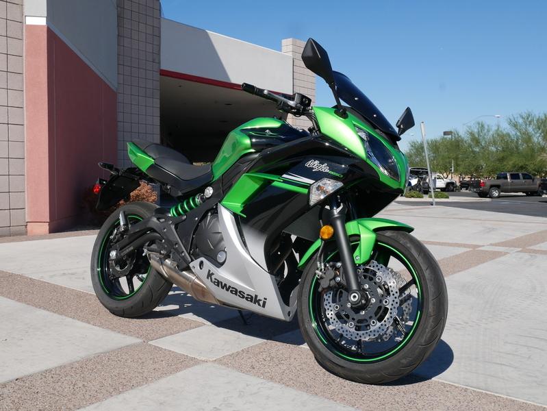 $6,199, 2016 Kawasaki Ninja 650