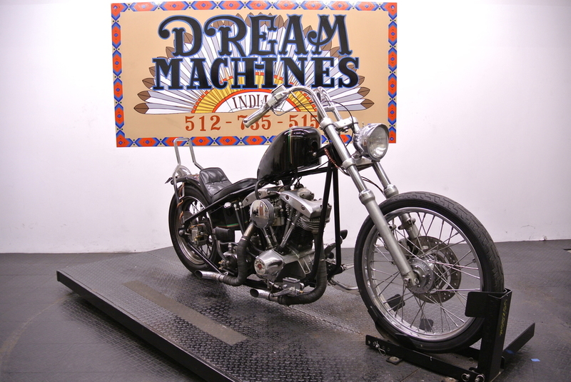 $6,960, 1973 Custom Built Shovel Head Chopper