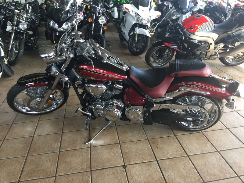 $9,985, 2013 Yamaha Raider SCL