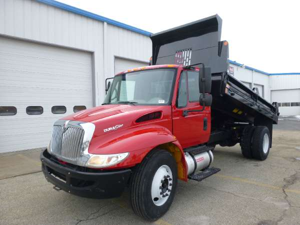 $48,900, 2010 International International 4300 14#39; Contractors Dump