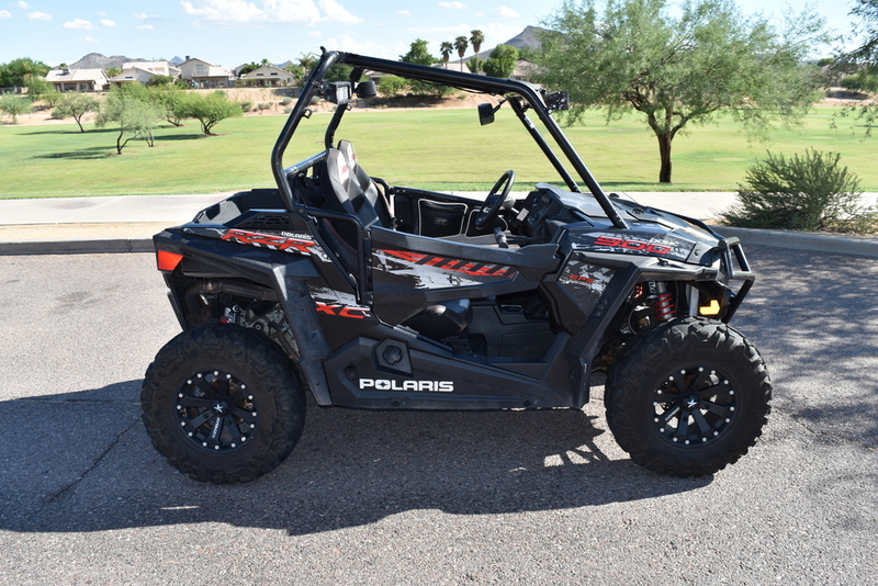 $13,499, 2015 Polaris RZR 900 XC Edition Stealth Black